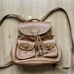 EUC! Vintage Dooney & Bourke leather backpack